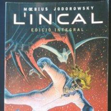 Cómics: EL INCAL EDICION INTEGRAL MOEBIUS JODOROWSKY. Lote 254478400