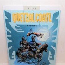 Comics : COMIC QUETZALCOATL TOMO 6: LA NOCHE TRISTE EDIT. GLENAT. Lote 254782425