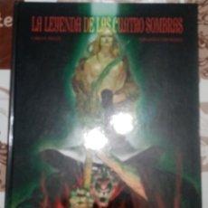Cómics: LA LEYENDA DE LAS CUATRO SOMBRAS: CARLOS TRILLO-FERNANDO FERNÁNDEZ: GLENAT. Lote 254844075