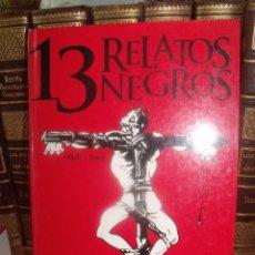 Cómics: 13 RELATOS NEGROS ABULI / OSWAL GLENAT 2003. Lote 257670355
