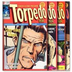 Cómics: TORPEDO 1936 VOL. 11, 12, 13, 19. Lote 257835895