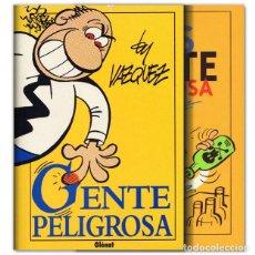 Cómics: GENTE PELIGROSA 1 Y 2. Lote 257838105