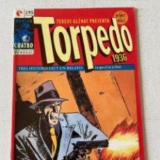 Comics: TORPEDO 1936 #4 GLENAT NUEVO DE KIOSKO. Lote 258133615