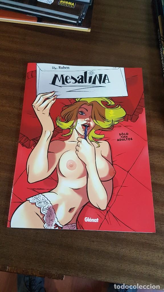 EROTICOS . MESALINA (Tebeos y Comics - Glénat - Serie Erótica)