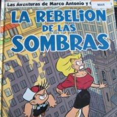 Cómics: MARCO ANTONIO I CLEOPATRA--LA REBELION DE LAS SOMBRAS--MIQUE BELTRAN. Lote 261592665