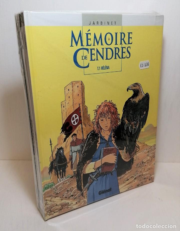 LOTE COMICS MEMOIRE DE CENDRES 1 AL 4 EDIT. GLENAT (Tebeos y Comics - Glénat - Serie Erótica)