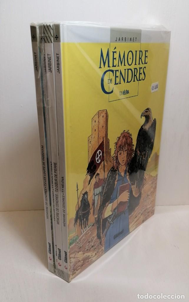 Cómics: Lote comics memoire de cendres 1 al 4 edit. glenat - Foto 2 - 261923510
