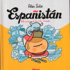 Cómics: ESPAÑISTÁN, ESTE PAÍS SE VA A LA MIERDA. ALEIX SALÓ. GLENAT 2011. Lote 262478335