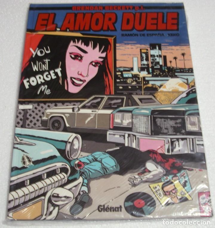 EL AMOR DUELE- GLENAT 1997-PERFECTO- IMPORTANTE LEER DESCRIPCIÓN (Tebeos y Comics - Glénat - Autores Españoles)