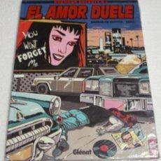 Cómics: EL AMOR DUELE- GLENAT 1997-PERFECTO- IMPORTANTE LEER DESCRIPCIÓN. Lote 262803195