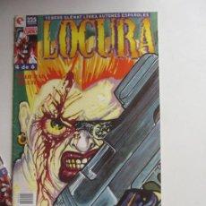 Comics: LOCURA Nº 4 (GLÉNAT, 1996) DE BAUXI ARX46. Lote 263051035