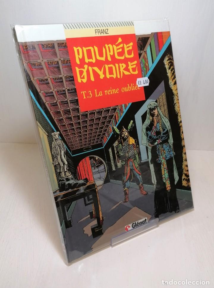 COMIC POUPEE D'IVOIRE TOMO 3: LA REINE OUBLIEE DE FRANZ EDIT GLENAT (Tebeos y Comics - Glénat - Serie Erótica)