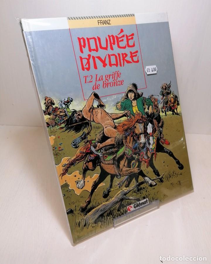 COMIC POUPEE D'IVOIRE TOMO 2: LA GRIFFE DE BRONZE EDIT. GLENAT (Tebeos y Comics - Glénat - Serie Erótica)