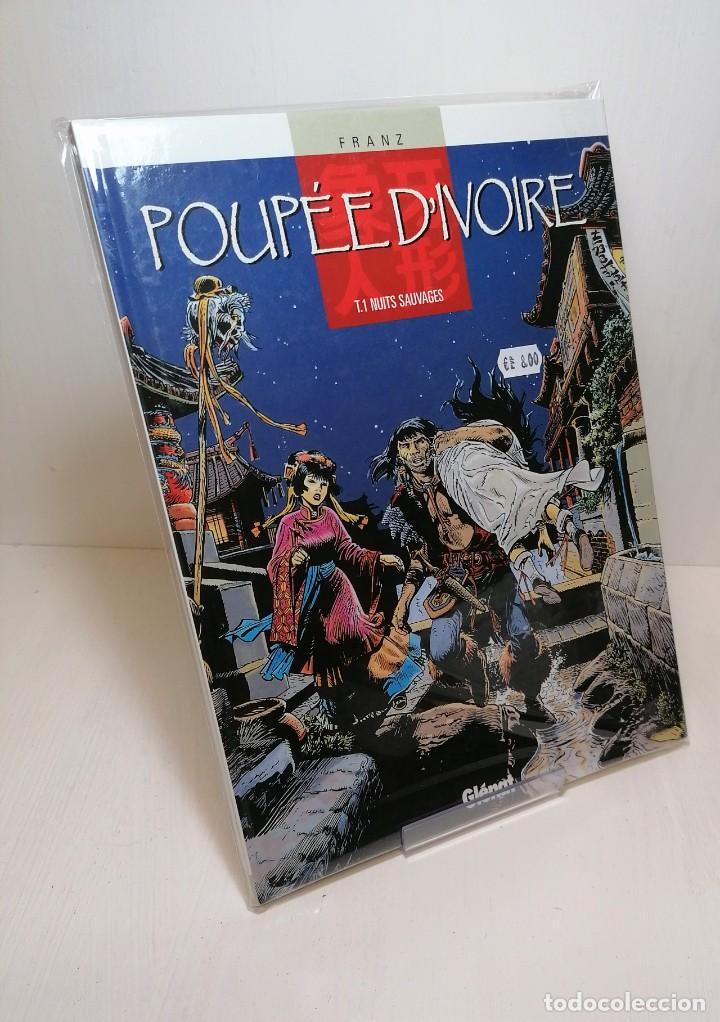 COMIC POUPEE D'IVOIRE TOMO 1: NUITS SAUVAGES EDIT.GLENAT (Tebeos y Comics - Glénat - Serie Erótica)