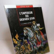 Cómics: COMIC L'EMPEREUR DU DERNIER JOUR TOMO 1: LE PRINCE VAUTOUR EDIT. GLENAT. Lote 263653165