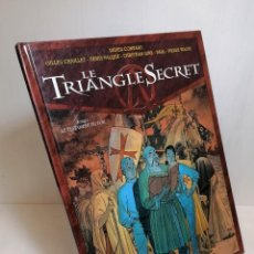 Cómics: COMIC LE TRIANGLE SECRET TOME 1: LE TESTAMENT DU FOU EDIT. GLENAT. Lote 263749520