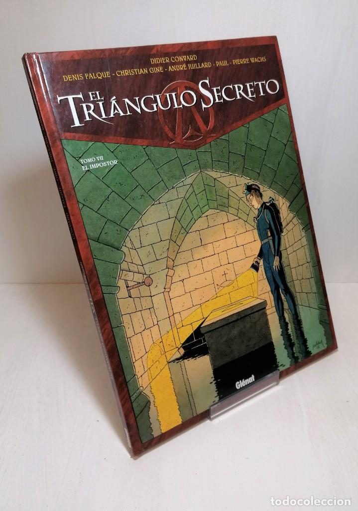 COMIC EL TRIANGULO SECRETO TOMO 7: EL IMPOSTOR EDIT. GLENAT (Tebeos y Comics - Glénat - Serie Erótica)