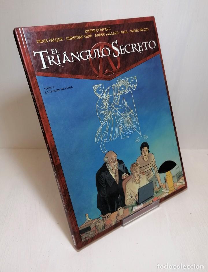 COMIC EL TRIANGULO SECRETO TOMO 5: LA INFAME MENTIRA EDIT. GLENAT (Tebeos y Comics - Glénat - Serie Erótica)