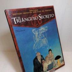 Cómics: COMIC EL TRIANGULO SECRETO TOMO 5: LA INFAME MENTIRA EDIT. GLENAT. Lote 263750325