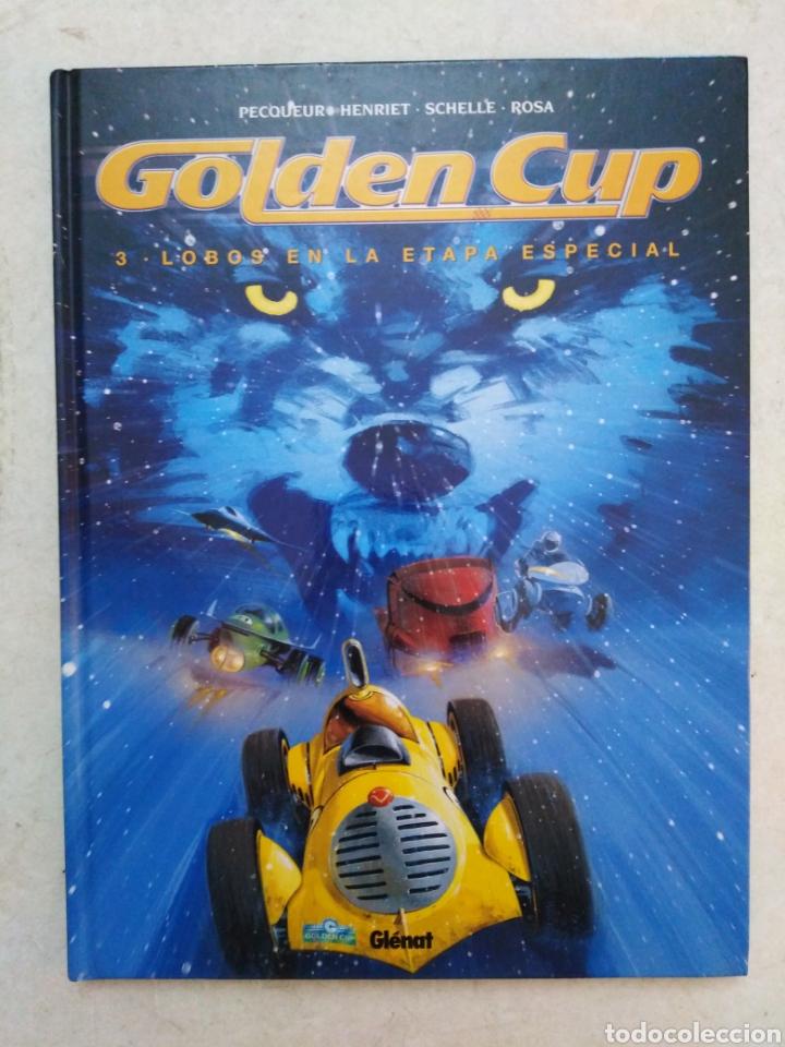 Cómics: Lote de 3 cómic Golden Cup ( Glenat ) en español - Foto 3 - 264447794