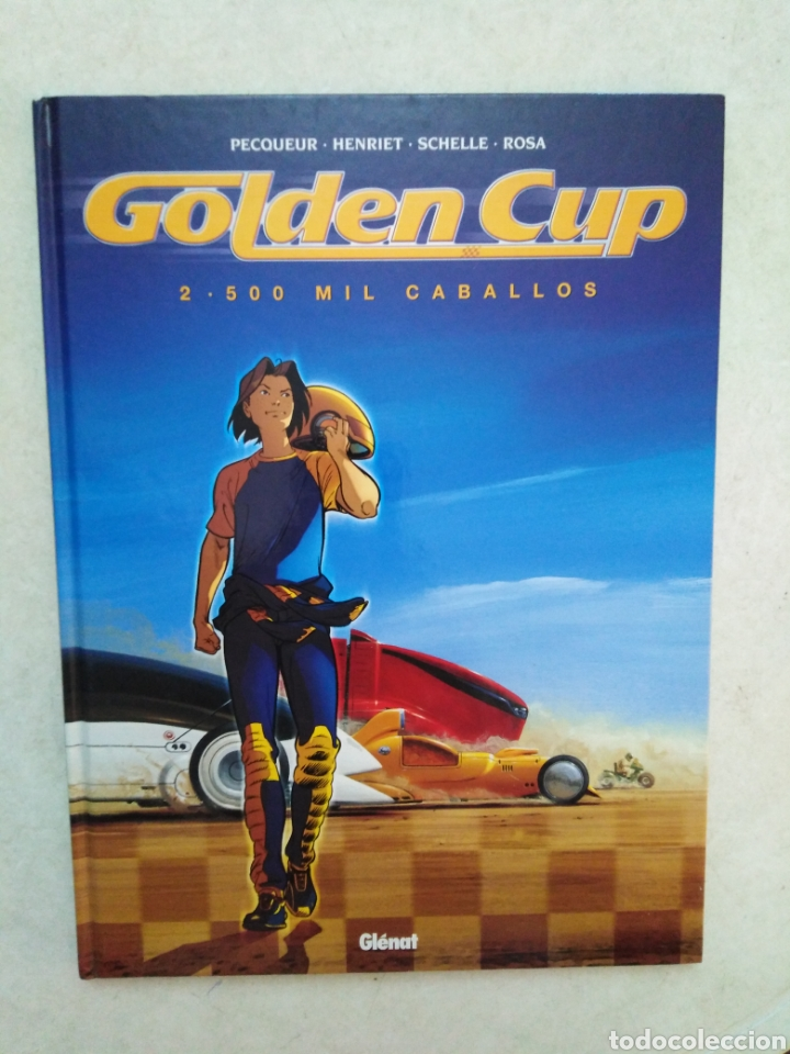 Cómics: Lote de 3 cómic Golden Cup ( Glenat ) en español - Foto 4 - 264447794