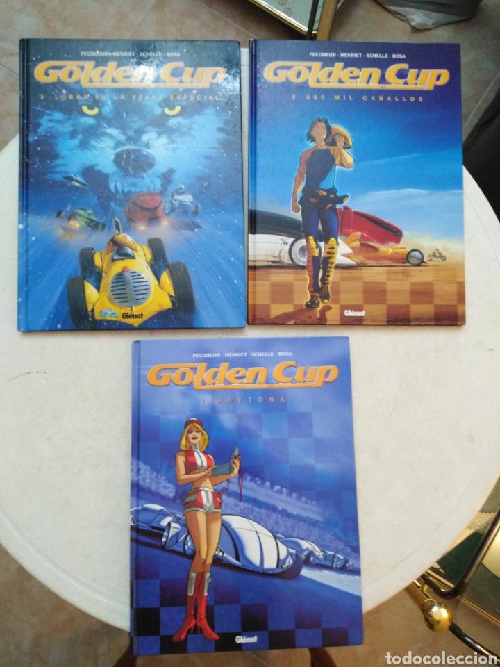 LOTE DE 3 CÓMIC GOLDEN CUP ( GLENAT ) EN ESPAÑOL (Tebeos y Comics - Glénat - Comic USA)