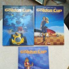 Cómics: LOTE DE 3 CÓMIC GOLDEN CUP ( GLENAT ) EN ESPAÑOL. Lote 264447794