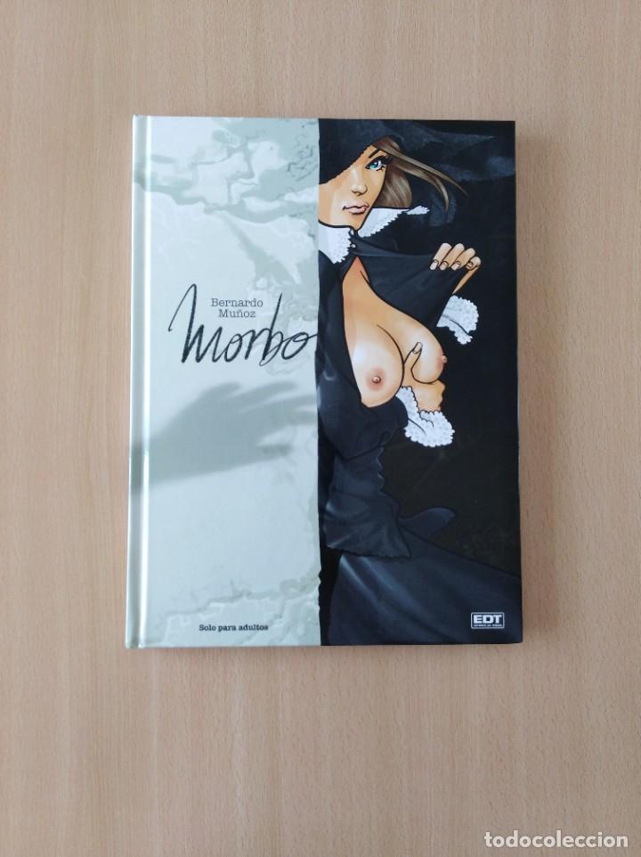 MORBO. BERNARDO MUÑOZ (Tebeos y Comics - Glénat - Serie Erótica)