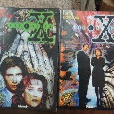 Comics: THE X FILES ESPECIAL RECOPILATORIO - 2 TOMOS RETAPADO EXPEDIENTE X - GLENAT 1996. Lote 266877874
