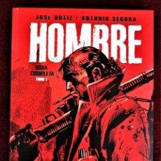 Comics: HOMBRE OBRA COMPLETA TOMO 1 290 PÁGINAS EDT. PERFECTO . VER DESCRIPCIÓN Y FOTOS.. Lote 266885029