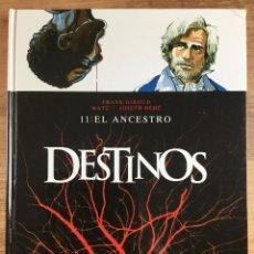 Cómics: DESTINOS 11 - EL ANCESTRO - JOSEPH BÉHÉ - MATZ - EDICIONES GLÉNAT 2011. Lote 267077469