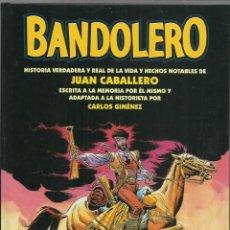 Cómics: BANDOLERO, 2002, GLÉNAT, IMPECABLE. Lote 268795594