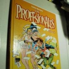 Cómics: LOS PROFESIONALES TOMO 4. CARLOS GIMÉNEZ 2004 TAPA DURA 62 PÁG (SEMINUEVO). Lote 269498058