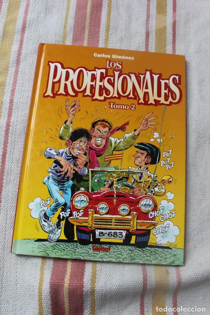 LOS PROFESIONALES TOMO 2 ; CARLOS GIMENEZ; GLENAT (Tebeos y Comics - Glénat - Autores Españoles)