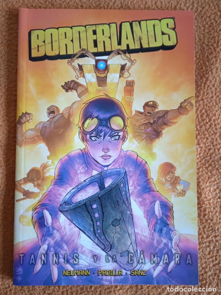 BORDERLANDS 03. TANNIS Y LA CAMARA - MIKE NEUMANN/AGUSTÍN PADILLA/ESTHER SANZ (Tebeos y Comics - Glénat - Comic USA)