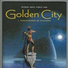 Cómics: GLENAT. GOLDEN CITY. PECQUEUR. MALFIN. 1.. Lote 271354868