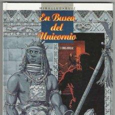Cómics: GLENAT. EN BUSCA DEL UNICORNIO. 3.. Lote 271342228