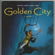 Cómics: GLENAT. GOLDEN CITY. PECQUEUR. MALFIN. 4.. Lote 271349868