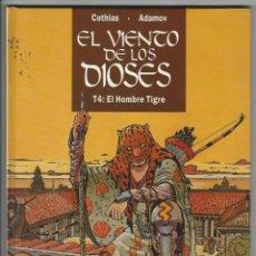 Cómics: GLENAT. EL VIENTO DE LOS DIOSES. 4. COTHIAS. ADAMOV.. Lote 271352448