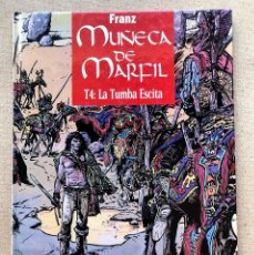 Comics: MUÑECA DE MARFIL / TOMO 4: LA TUMBA ESCITA / FRANZ / GLÉNAT /. Lote 272921448