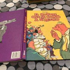 Comics: EL HOMBRE QUE SE COMIÓ A SÍ MISMO, DE PERE JOAN (GLÉNAT, 1999) INTEGRAL. 176 PGS. TAPA DURA. Lote 274318593