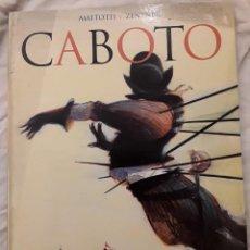 Comics: CABOTO - NOVELA GRÁFICA - MATTOTTI ZENTNER - GLÉNAT - 2004. Lote 276100423