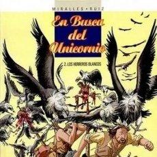 Comics: EN BUSCA DEL UNICORNIO Nº 2 LOS HERREROS BLANCOS (MIRALLES / RUIZ) GLENAT - MUY BUEN ESTADO - SUB02F. Lote 276615013