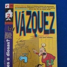 Cómics: BY VÁZQUEZ Nº 2 - GLÉNAT. Lote 277518283