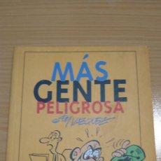 Cómics: MAS GENTE PELIGROSA BY VAZQUEZ 64 PAGS GLENAT B/N. Lote 277594913