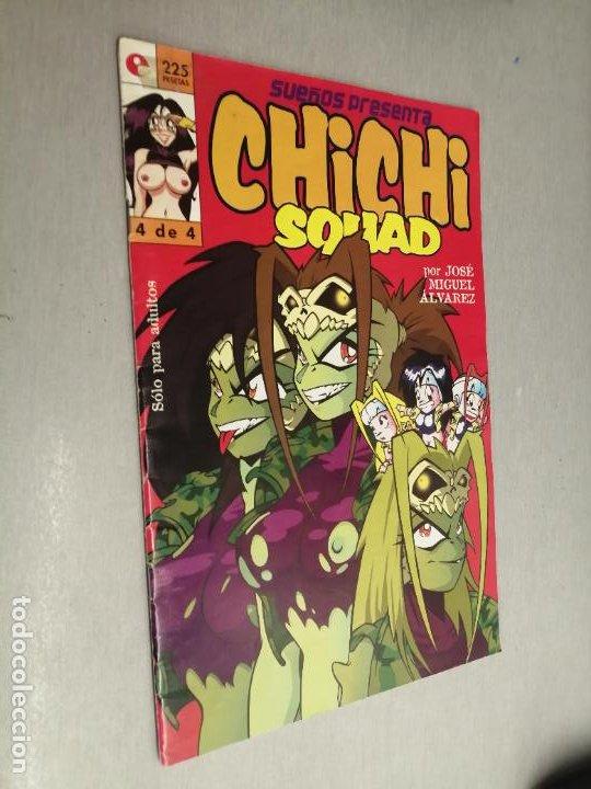 CHICHI SQUAD Nº 4 / JOSÉ MIGUEL ÁLVAREZ / GLENAT (Tebeos y Comics - Glénat - Serie Erótica)