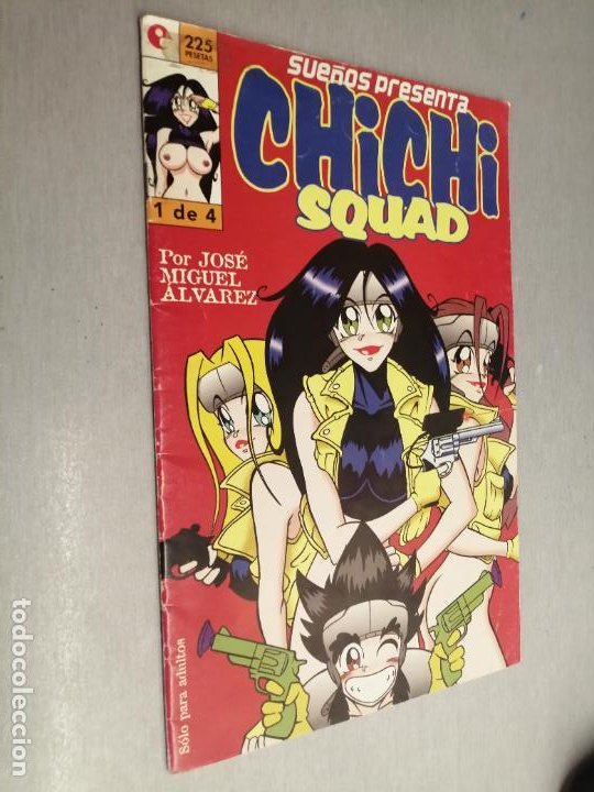 CHICHI SQUAD Nº 1 / JOSÉ MIGUEL ÁLVAREZ / GLENAT (Tebeos y Comics - Glénat - Serie Erótica)
