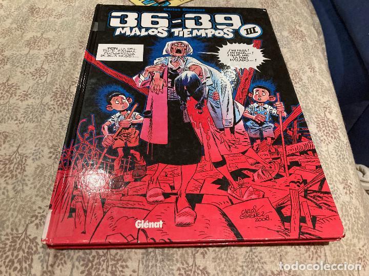 MALOS TIEMPOS 36 - 39 VOLUMEN III CARLOS GIMENEZ 2007- GLENAT (Tebeos y Comics - Glénat - Autores Españoles)