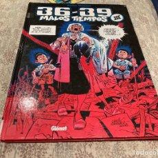 Cómics: MALOS TIEMPOS 36 - 39 VOLUMEN III CARLOS GIMENEZ 2007- GLENAT. Lote 277705103