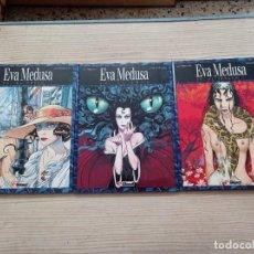 Cómics: EVA MEDUSA - COMPLETA 3 TOMOS - 1993-1994 - GLENAT. Lote 277739628